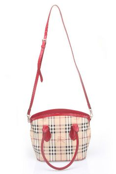 b8826890384d Burberry Small Haymarket Newfield Handbag in Military Red  1195.00 Beyond  The Rack