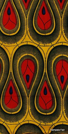 #African #Print #Fabric - check out our Ayikai Couture clutch from the same fabric at sapelle.com