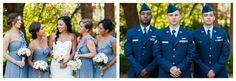 wedding party air force urbanshutterbug.com bride, groom