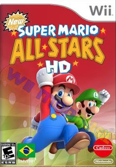 Mario Wii, Mario Star, Super Mario All Stars, Super Mario Art, Nintendo Games, Fictional Characters, Ninja Turtles, Dibujo, Fantasy Characters