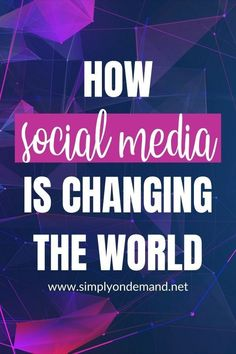 The online world is incredibly noisy. Deciding whether social media is good or bad is a personal choice. How do you feel about it? Read here what I found with my research. #SimplyOnDemand #CreativeDesign #VisualDesign #CreativeDesignSecrets #VisualDesign #CreativeServices #CreativeBranding Social Media Images, Perfect Image, Do You Feel, Change The World, Creative Design, The Secret, Feelings, Learning, Business