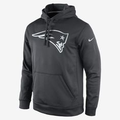 Nike Sportswear New England Patriots Rewind Hoodie Old Royal University Red