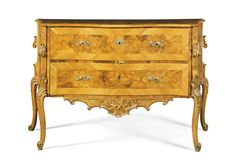 A South German Rococo walnut and fruitwood commode, Franconian circa 1760 | Lot | Sotheby's