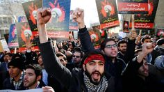 Saudi Arabia says it has broken off diplomatic ties with Iran, amid a row over the Saudi execution of prominent Shia cleric Sheikh Nimr al-Nimr. Iranian protesters set fire to the Saudi embassy in Tehran on Sunday