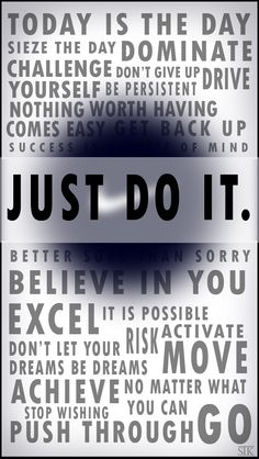 Nike 'Just Do it.' iPhone 5 Wallpaper