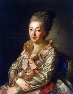 Alexander Roslin: Wilhelmine von Hessen-Darmstadt, Grand Duchess Natalia Alexeyevna. 1776.