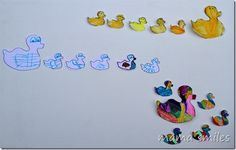 5 Little Ducks printable