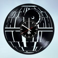 Star Wars bb8 Falcon Millenium Galax Handmade Vinyl Record Wall Clock Fan Gift - VINYL CLOCKS
