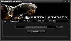 Mortal Kombat X Cd Key Free Generator Working Microsoft Windows PlayStation 3 PlayStation 4 Xbox 360 Xbox One iOS Android