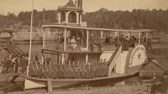 "Kilbourn Broom Brigade on the ""Alexander Mitchell"" 