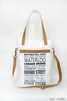 "Tasche LONDON ""Love my City"" Small Size"