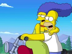 Homer and Marge, 'The Simpsons'