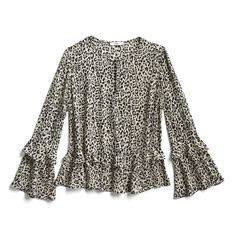 like the print, not sure about the ruffle at the bottom Spring Stylist Picks: Ruffled leopard blouse Stylist Pick, Leopard Blouse, Stitch Fix Outfits, Stitch Fix Stylist, Fashion Outfits, Womens Fashion, Runway Fashion, Casual Outfits, Ms Gs