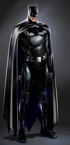 Batman Concept Study by Jesus Alberto