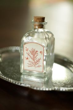apothecary bottle...I use these for my sand collection from all of the vacation destinations we've been to  ;)