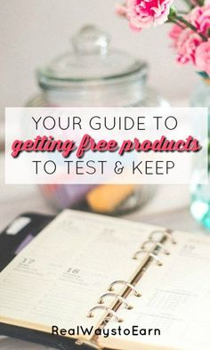Become a product tester and have major brands and companies send you their stuff to try for free! Then, give your honest opinion about what you tried.