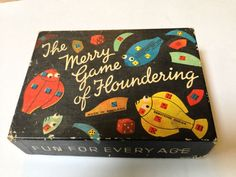 Vintage 1950s Spears game, The Merry Game of Floundering
