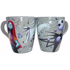 Disney Coffee Cup Mug - Nightmare Before Christmas - Jack and Sally