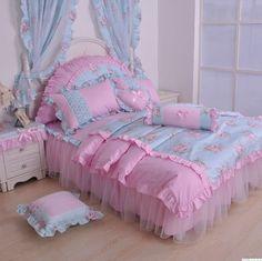 lace cotton bedding bow - http://zzkko.com/note/19463 $22.38