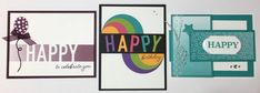 So Much Happy Class by Mail – My Sweet Paper Stampin Up, Happy Birthday, Paper, Sweet, Happy Brithday, Candy, Urari La Multi Ani, Stamping Up, Happy Birthday Funny