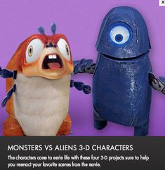 Monsters vs. Aliens pages   Kids Coloring Pages   Pinterest ...
