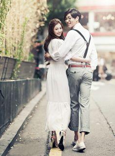 Korea Pre-Wedding Photo - A Unique One for You in Studio, Korea by May Studio | www.OneThreeOneFour.com