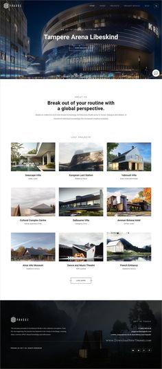 Prague Is Clean And Modern Design Responsive WordPress Theme For Architecture Interior Website Download Now Themeforest