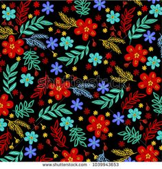 spring flower pattern - bu vektörü Shutterstock'ta satın alın ve başka görseller bulun. Spring Flowers, Flower Patterns, Cards, Image, Doodle Flowers, Floral Patterns, Maps, Playing Cards, Spring Colors