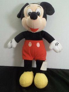 Walt Disney World Mickey Mouse Plush Toy Souvenir Mickey Mouse Doll, Walt Disney Parks, Disneyland, Dinosaur Stuffed Animal, Plush, Toy, Dolls, Trips, Vacations