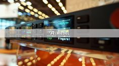 RIEDEL wallpaper (RSP-2318 Smartpanel) #Riedel #RiedelCommunications
