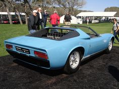 The one and only Lamborghini Miura Roadster