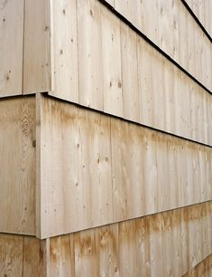 Seilerlinhart: Halle WK Alpnach — Thisispaper — What we save, saves us. Wood Cladding Exterior, Wooden Cladding, House Cladding, Wooden Facade, Cladding Ideas, Architectural Materials, Architectural Features, Timber Architecture, Architecture Details