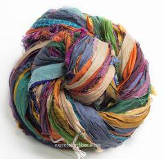111 Best Ribbon Yarn images in 2019 | Ribbon yarn, Crochet