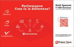 P! - Italia - new march communication campaign.