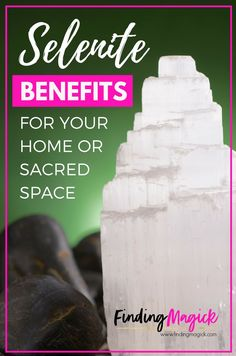 As far as crystal healing goes, selenite is a powerful stone. Learn how to use this crystal as decor in your home like a selenite lamp and the many benefits it brings to sacred space. #selenite #crystalhealing #crystals #homedecor #homedecoration #lamp #selenitelamp #lighting #sacredspace Natural Crystals, Healing Crystals, Crystals In The Home, Chakra Crystals, Chakra Stones, Healing Stones, Chakra Healing, Selenite Lamp, Crystals And Gemstones