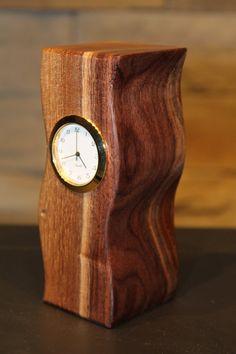 Black Walnut Desk Clock