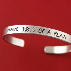 12% of a Plan Cuff Bracelet - Spiffing Jewelry - Guardians of the Galaxy - Marvel - Star Lord