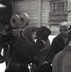"""Larisa Shepitko sur le tournage de """"The Ascent"""" en She Movie, My Lord, Film, Cinematography, Music, Movies, Fictional Characters, Google Search, Women"""