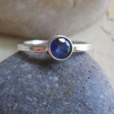 Sapphire ring - http://www.etsy.com/listing/111069087/natural-blue-ceylon-sapphire-ring-modern