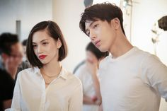Kiko Mizuhara and Jing Boran for GAP China