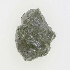 0.84 Ct Natural Diamond Congo-Coted Rough Irregular Shape Silver Color