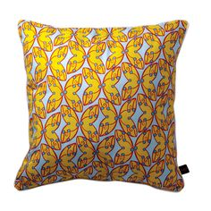 Yellow Mellow Pillow Cover Yellow, Blue, Pillow Covers, Throw Pillows, Red, Butterfly, Home Decor, Living Room, Pillow Case Dresses
