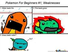Pokémon weaknesses