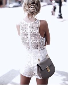 This Chloe bag though! Will look amazing with all white and nude looks this summer!