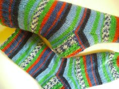 Teenager gift warm socks handmade gift rib knit by Knitwoolsocks