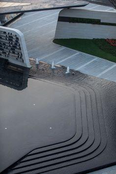Metro Studio: Huizhou Sinic City – ArchiDesignClub by MUUUZ – Architecture & Des … - Architecture Organique Landscape Model, Modern Landscape Design, Landscape Plans, Modern Landscaping, Contemporary Landscape, Urban Landscape, Garden Landscaping, Landscaping Software, Contemporary Architecture