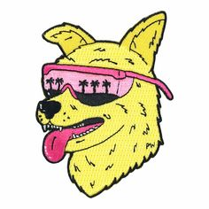 Cool Pup Patch by Paul Windle