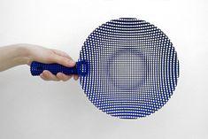 3D printed colander (sieve) designed by Jean Baptiste Fastrez.