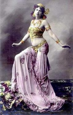 Mata Hari spied for the Germans in World War I.
