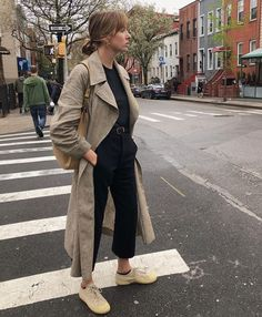 The most perfect spring coat 🐣 (gifted) Trench Coats, Trench Coat Outfit, Fall Winter Outfits, Autumn Winter Fashion, Winter Style, Spring Fashion, Cozy Fashion, Fashion Outfits, Fashion Styles